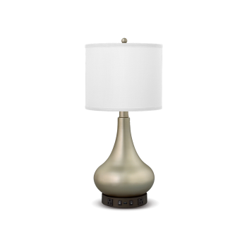 Truly Yours Collection - Desk Lamp with Brushed Nickel Finish