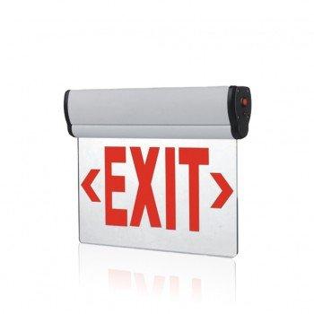 Edge Lit Exit Sign Light - Single Face