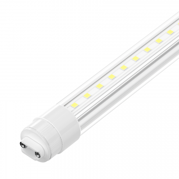LED T8 Sign Tube With R17D Base - Ballast Bypass & Rotatable - Type B Installation - PC Frosted Lens, ETL